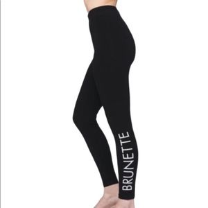 ☀️RESTOCK☀️BRUNETTE legging by brunette the label